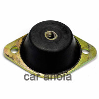 SILENT BLOCK MOTOR ø 8 ROSCADO CENTRAL MICROCAR LYRA, VIRGO, MC1, MC2
